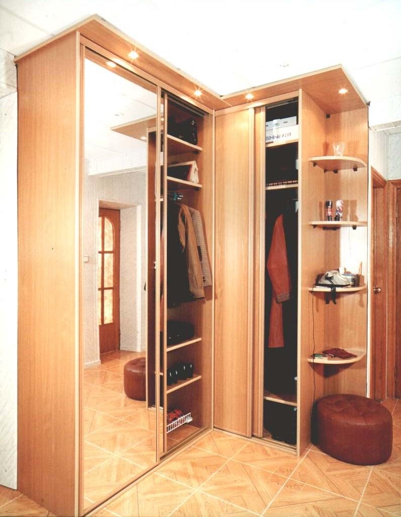 Шкаф-купе в домашних условиях с фото в прихожей